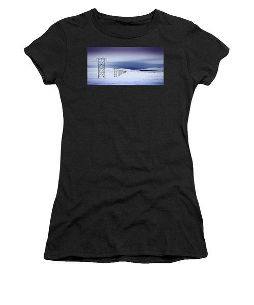 Pylons, Iceland Women's T-Shirt