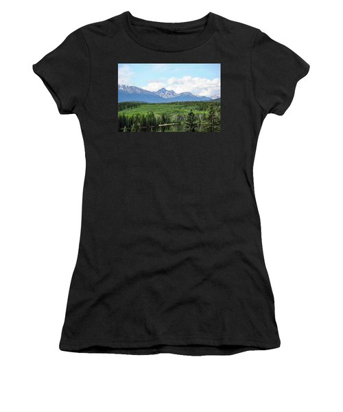 Pyramid Island - Jasper Ab. Women's T-Shirt (Junior Cut) by Ryan Crouse