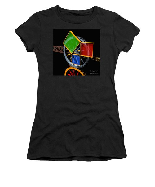 Pythagorean Machine Women's T-Shirt (Athletic Fit)