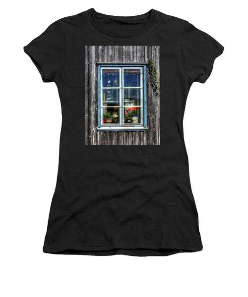 Quaint Window Women's T-Shirt (Athletic Fit)