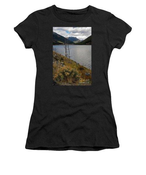 Quake Lake Women's T-Shirt (Athletic Fit)