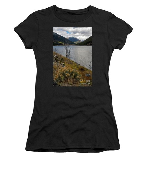 Quake Lake Women's T-Shirt (Athletic Fit)