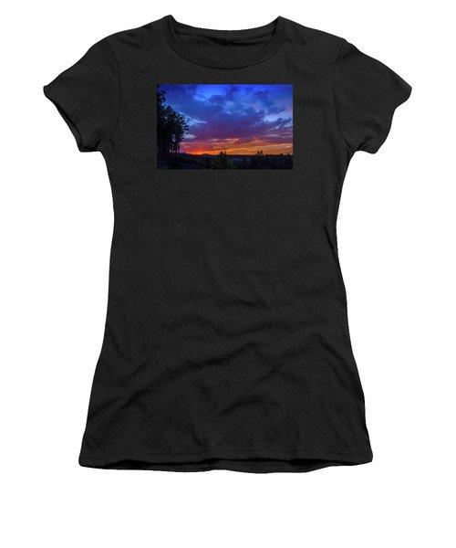 Quartz Canyon Sunset Women's T-Shirt (Athletic Fit)
