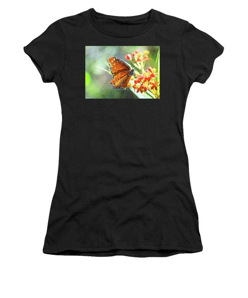 Queen Butterfly Women's T-Shirt (Athletic Fit)