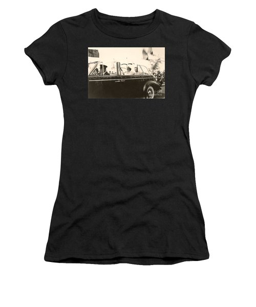 Queen Elizabeth And King George Vi Women's T-Shirt