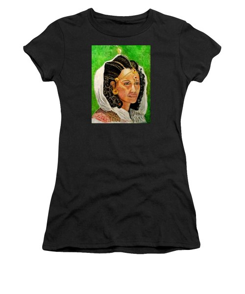 Queen Hephzibah  Women's T-Shirt (Junior Cut) by G Cuffia