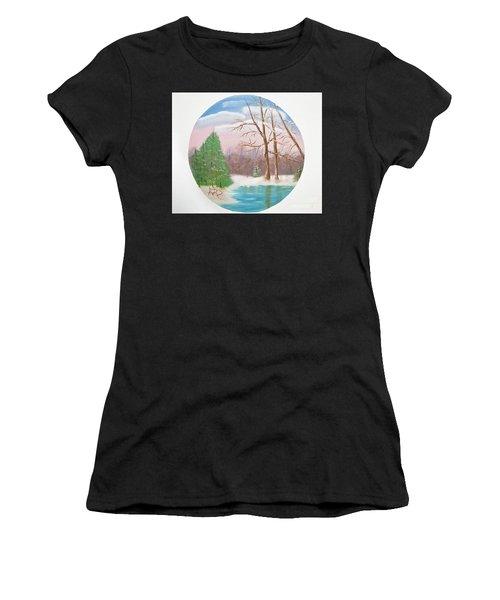 Quietude Women's T-Shirt (Athletic Fit)