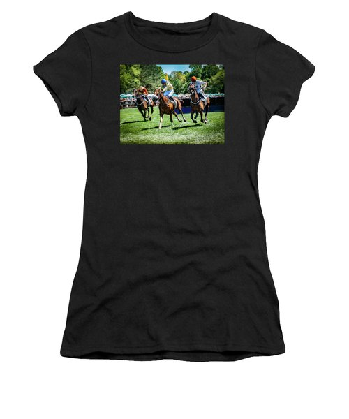 Racing Down The Stretch Women's T-Shirt
