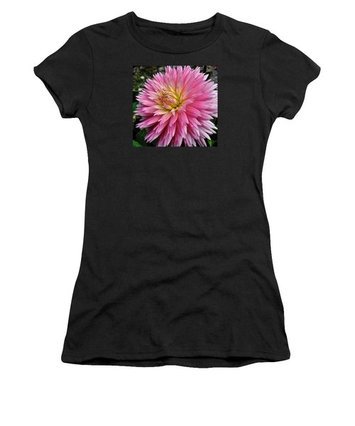 Radiant Dahlia  Women's T-Shirt (Athletic Fit)