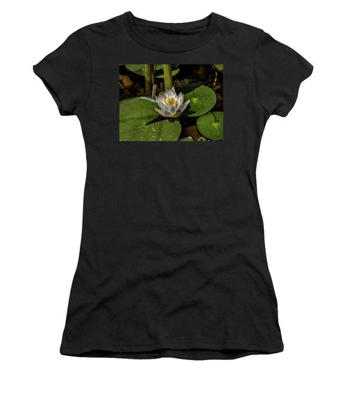 Radiant White Pond Lily  Women's T-Shirt