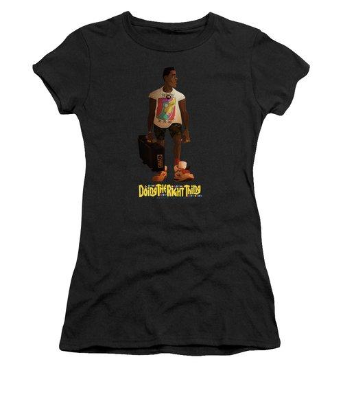 Radio Raheem Women's T-Shirt (Athletic Fit)