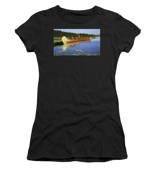 Radisson And Groseilliers Women's T-Shirt (Athletic Fit)