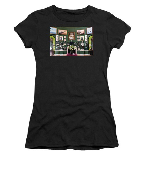 Women's T-Shirt (Junior Cut) featuring the photograph Raf Bentley Priory by Alan Toepfer