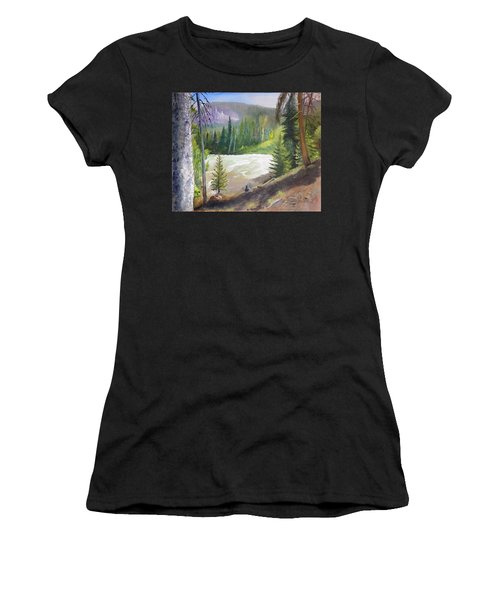 Raging River Women's T-Shirt (Athletic Fit)
