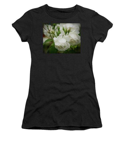 Rain Drops In Our Garden Women's T-Shirt