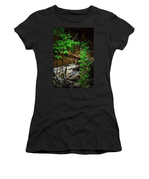 Rain Forest Walk Women's T-Shirt (Athletic Fit)