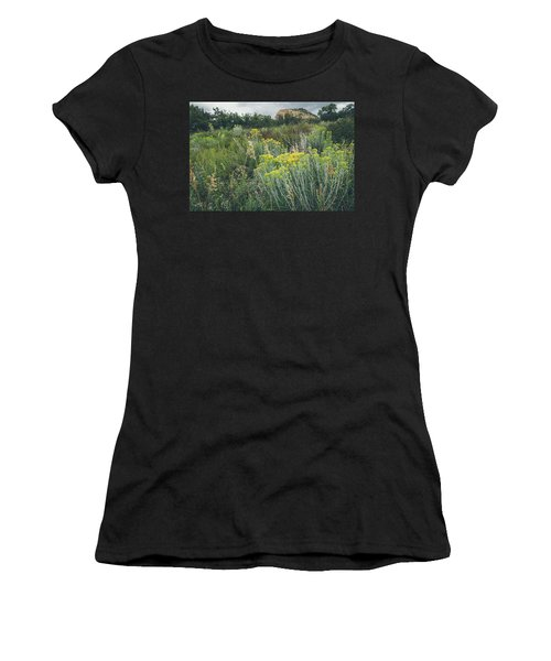 Women's T-Shirt featuring the photograph Rain Glow by Margaret Pitcher