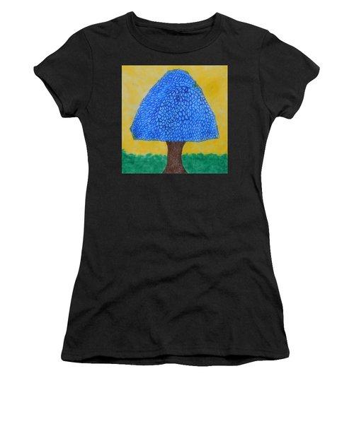 Rain Harmony Tree Women's T-Shirt (Athletic Fit)