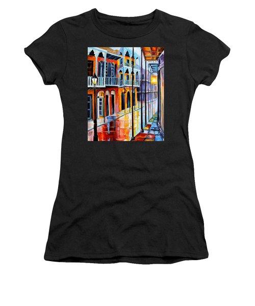 Rain On Royal Street Women's T-Shirt