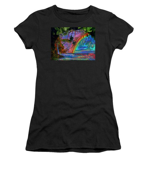 Rainboow Drenched In Layers Women's T-Shirt