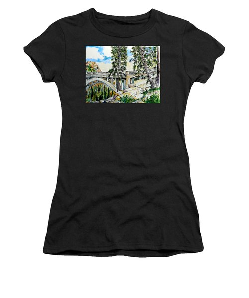 Rainbow Bridge At Donner Summit Women's T-Shirt