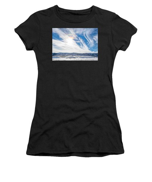 Rainbow Clouds Women's T-Shirt