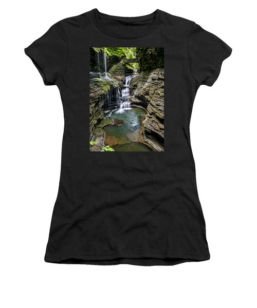 Rainbow Falls - Watkins Glen Women's T-Shirt