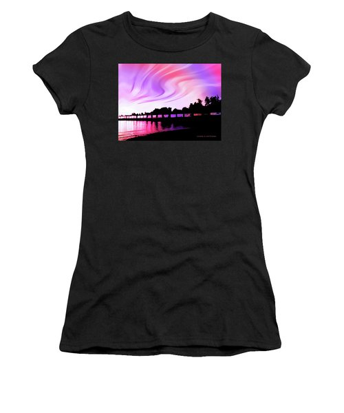 Rainbow Fantasy Women's T-Shirt (Athletic Fit)
