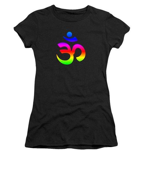 Rainbow Hinduism Symbol Women's T-Shirt