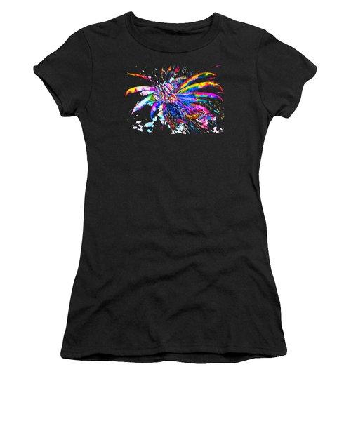 Rainbow Lionfish Women's T-Shirt (Athletic Fit)