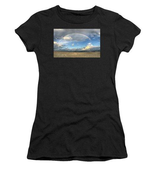Rainbow Over Ocean Women's T-Shirt