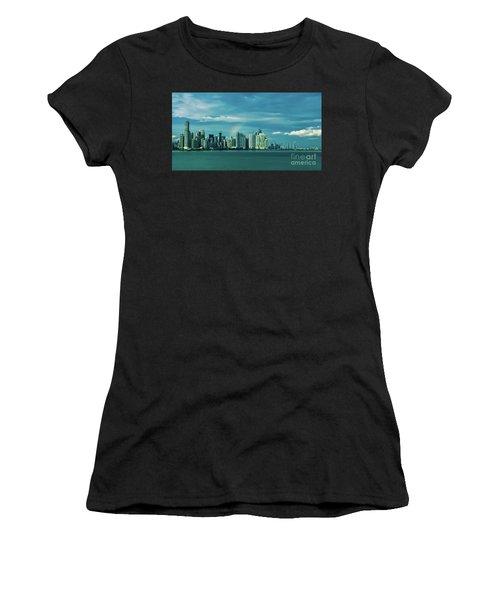 Rainbow Over Panama City Women's T-Shirt