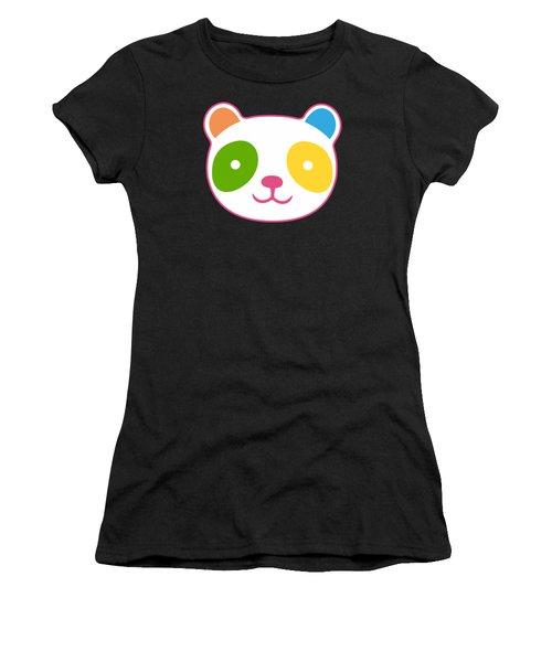 Rainbow Panda Women's T-Shirt
