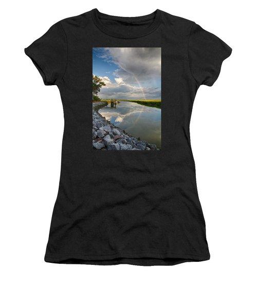 Rainbow Reflection Women's T-Shirt