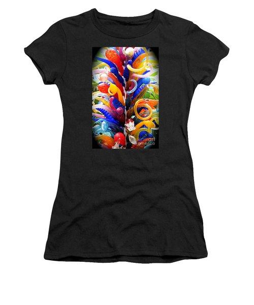 Rainbow Spirals Women's T-Shirt