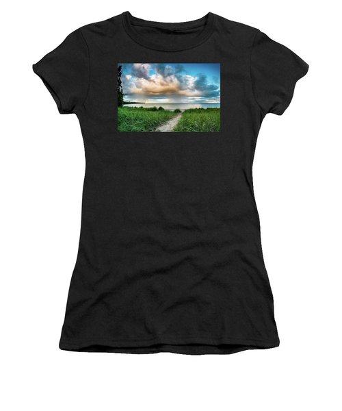 Rainbow Sunset Women's T-Shirt