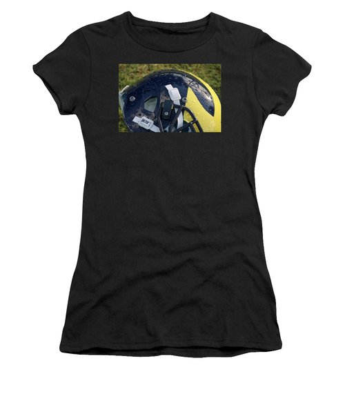 Raindrops On Wolverine Hellmet Women's T-Shirt (Athletic Fit)