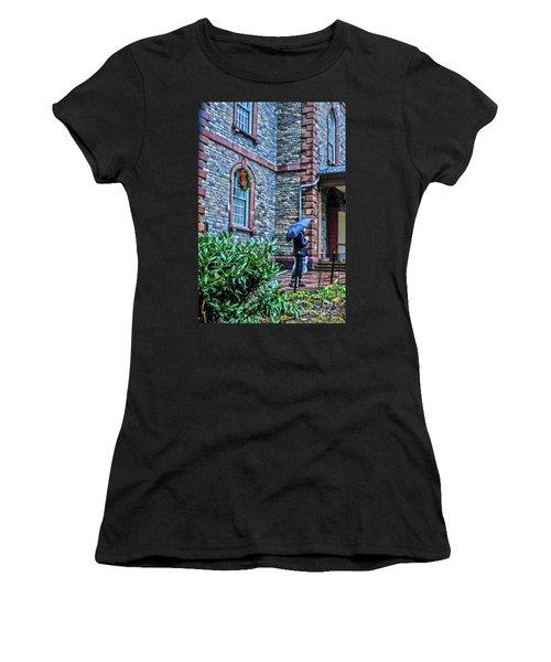 Rainy Sunday Women's T-Shirt (Athletic Fit)
