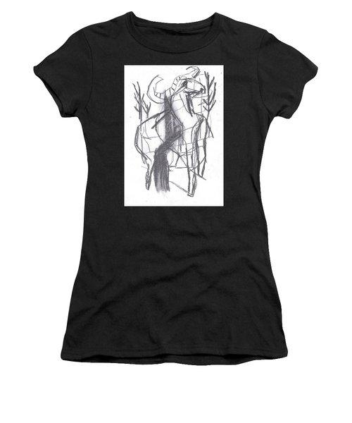 Ram In A Forest Women's T-Shirt