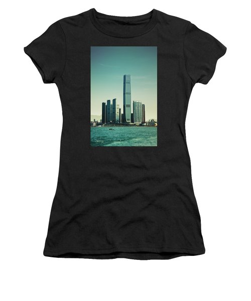 Women's T-Shirt (Athletic Fit) featuring the photograph Ramparts Of Commerce by Joseph Westrupp