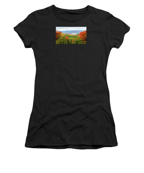 Rangeley Lake And Rangeley Plantation Women's T-Shirt (Athletic Fit)