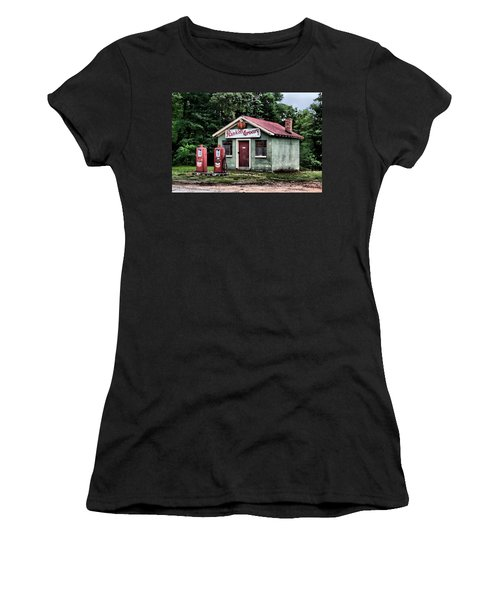 Rankins Grocery In Watercolor Women's T-Shirt (Athletic Fit)