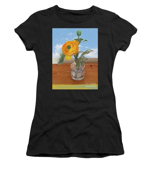 Ranunculus Spring Women's T-Shirt (Athletic Fit)