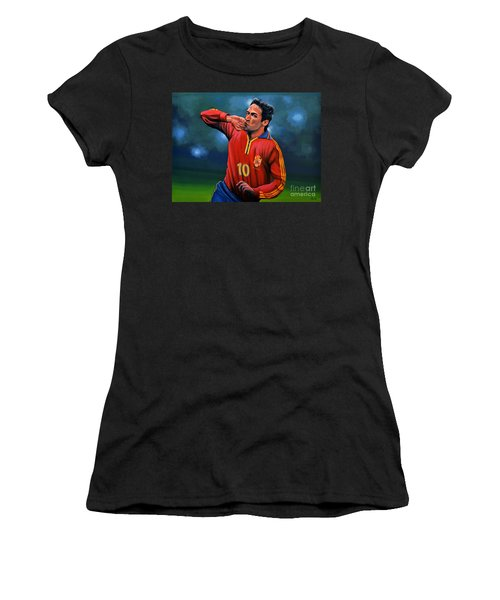 Raul Gonzalez Blanco Women's T-Shirt (Athletic Fit)