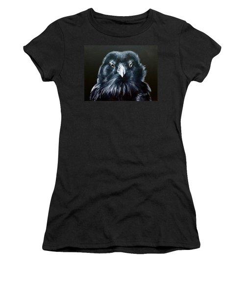 Raven Fluff Women's T-Shirt
