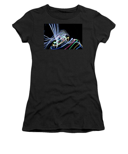 Raven In The Night Women's T-Shirt (Athletic Fit)
