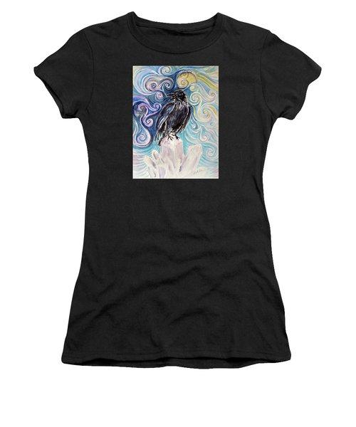 Raven Magic Women's T-Shirt (Athletic Fit)