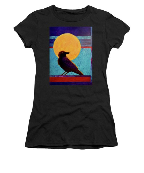 Raven Moon Women's T-Shirt (Athletic Fit)