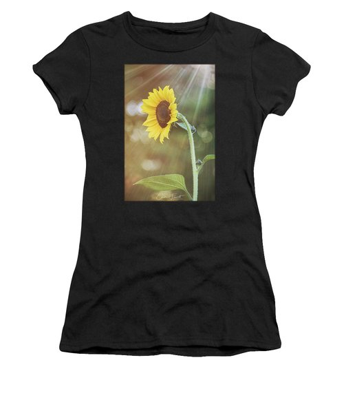 Ray Of Light Women's T-Shirt (Athletic Fit)