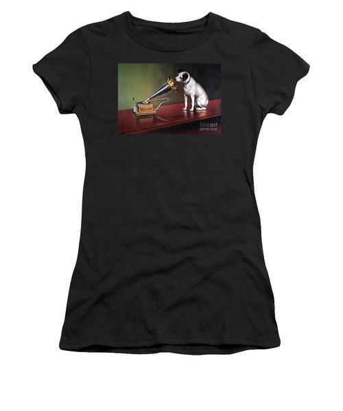 Rca Victor Trademark Women's T-Shirt (Athletic Fit)